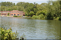 SP5105 : River Cherwell, River Thames junction by N Chadwick