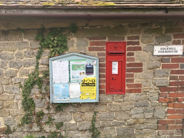 Byworth wall postbox