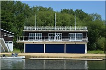 SP5105 : The Queens College Boathouse by N Chadwick