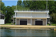 SP5105 : Jesus College, Keeble College Boathouse by N Chadwick