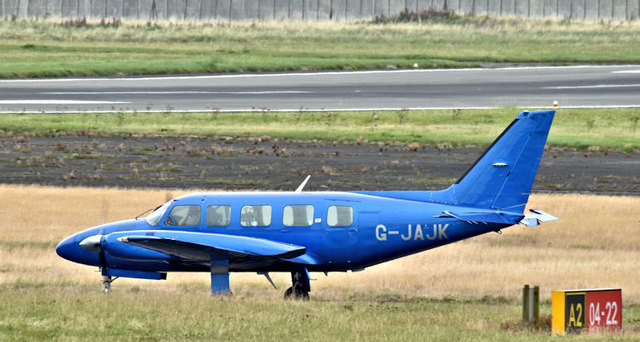 G-JAJK, Belfast City Airport (August 2017)