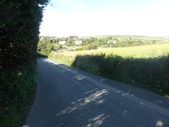Down the hill into the Cot valley