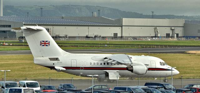 ZE700, Belfast City Airport (August 2017)