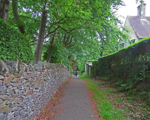 Footpath towards Church Hill