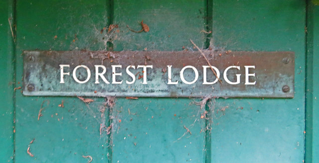 Forest Lodge sign