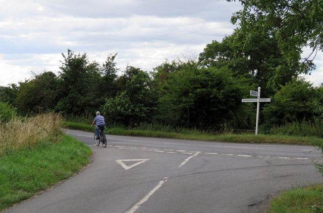 Three Turns Lane/South Croxton Road junction