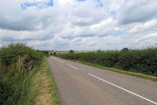 Melton Road away from Whissendine
