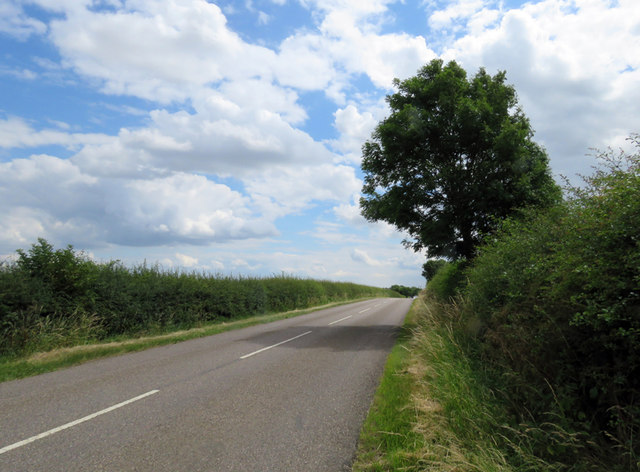 Melton Road towards Whissendine