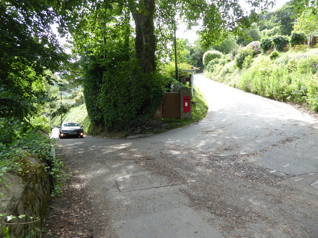Road to South Sands, Salcombe