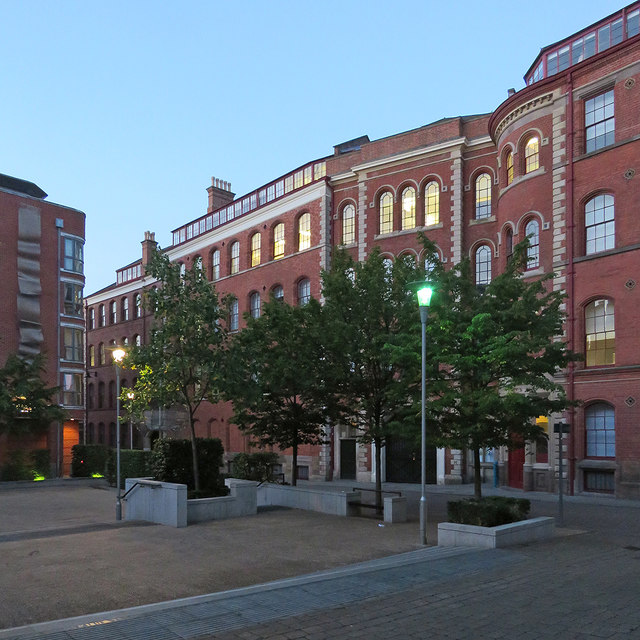 A summer evening in St Mary's Place
