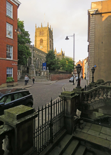 High Pavement and St Mary's