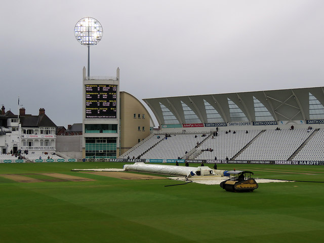 Trent Bridge: mopping up