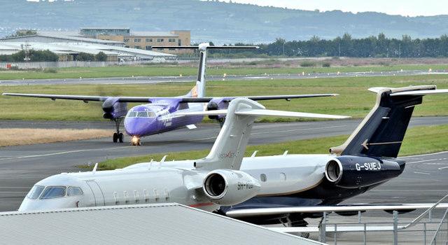 G-SUEJ, Belfast City Airport (September 2017)
