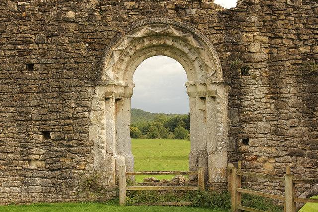 Kirkham Priory, Refectory doorway