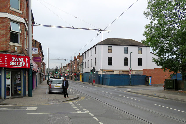 Radford Road and the former Old General