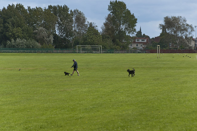 Playing fields, Higher Bebington