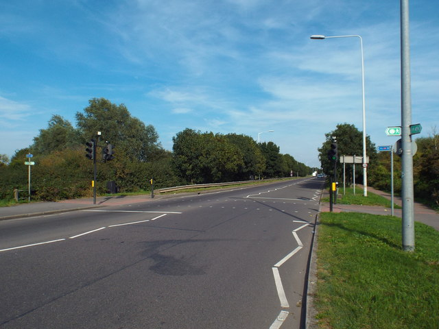 A1306 New Road near Rainham