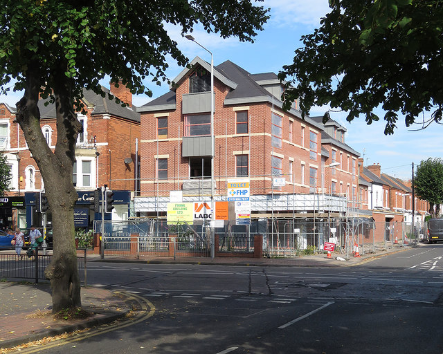 New building on Radcliffe Road