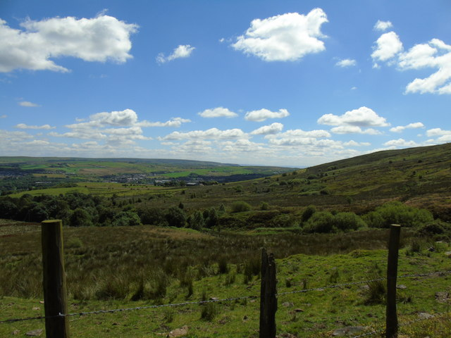 Holcombe Moor from Darwen Hill