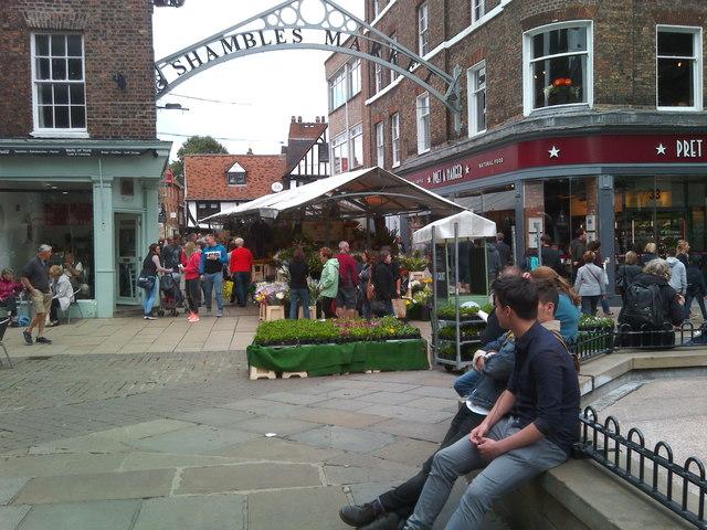 Entrance to Shambles Market