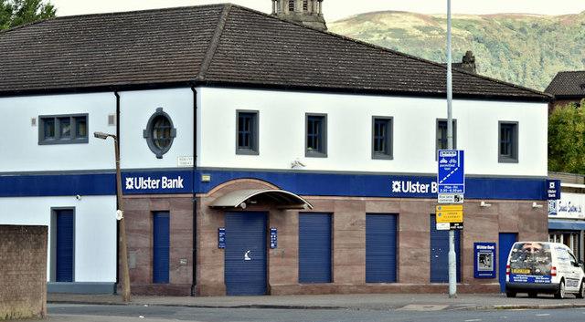The Ulster Bank, York Street, Belfast (September 2017)
