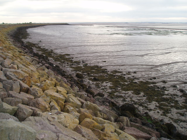 The Sea Wall at Gold Cliff