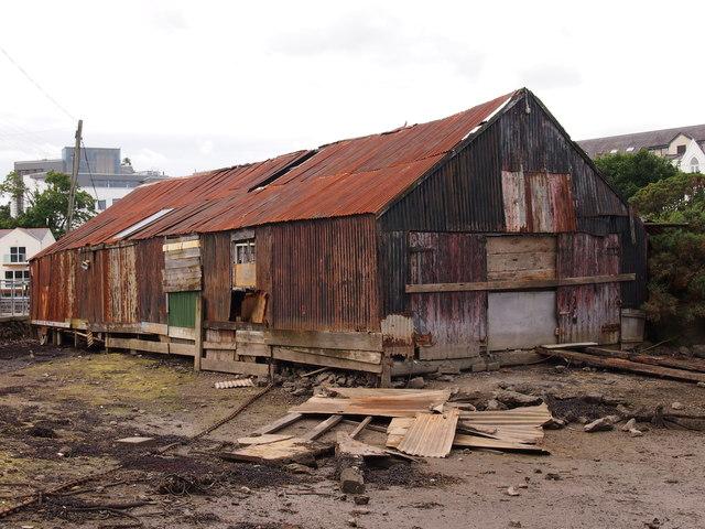 Disused Boat Workshop, Menai Bridge