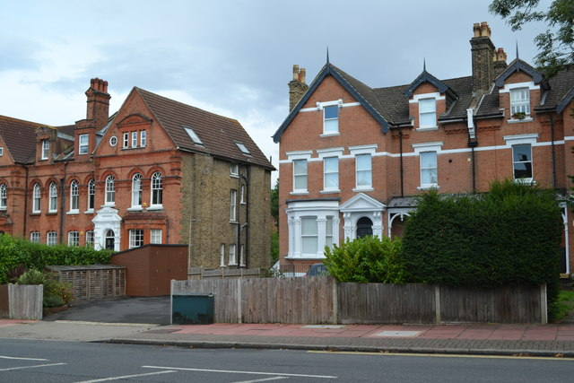 Large houses in Shortlands Road
