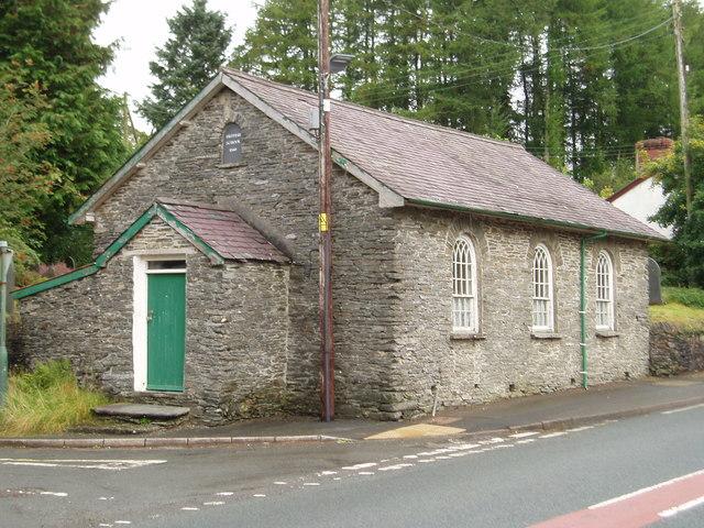 The Old British School, Ponterwyd