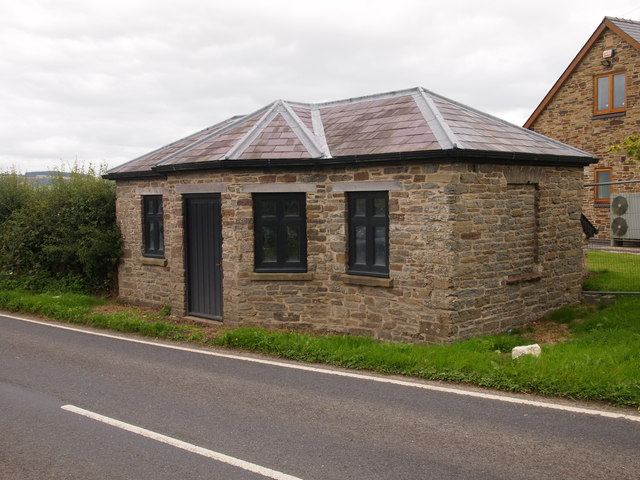 Restored Toll House, South of Knighton