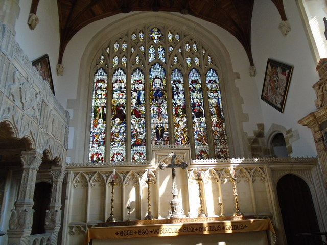 Stained Glass Window, Fitzalan Chapel