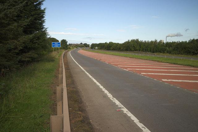 A1 near Innerwick