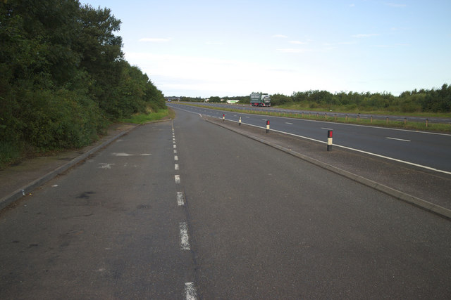 A1 Lay-by near Broxburn