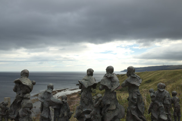 Statue Dedicated to the Widows and Children of Cove