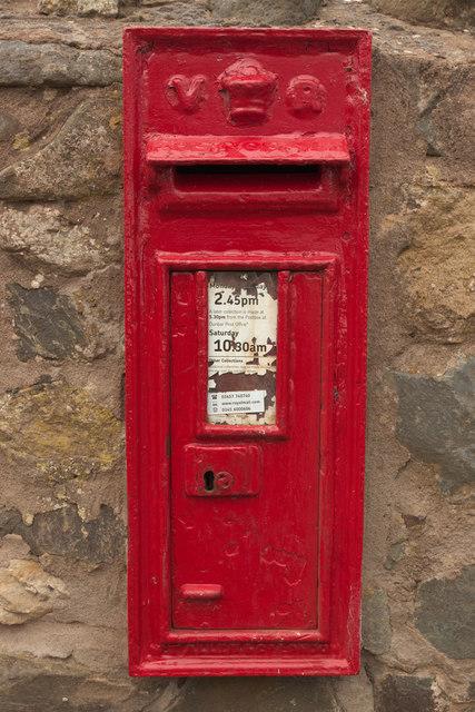 Victorian Postbox, Cove