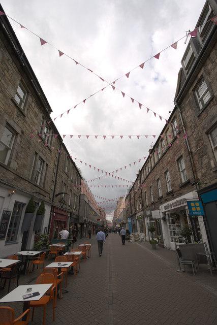 Bunting, Rose Street, Edinburgh
