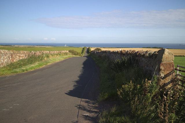Minor Road near Innerwick