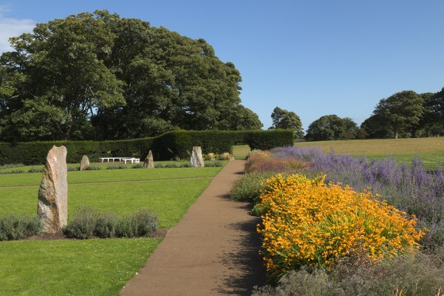 Flowers in the Lodge Grounds, North Berwick