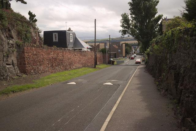 Nockenhair Road, Dunbar