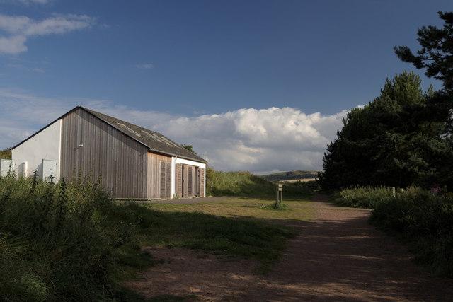 Public Toilets and Surf School, Belhaven Bay