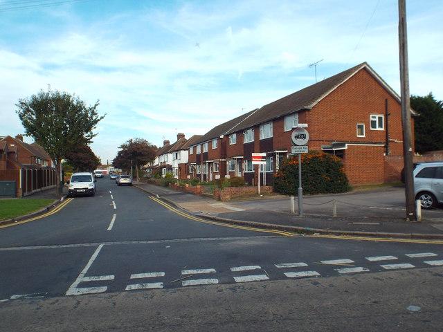 Alder Avenue, near Upminster