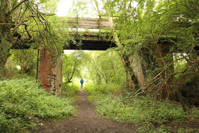 Wharram Percy trackbed
