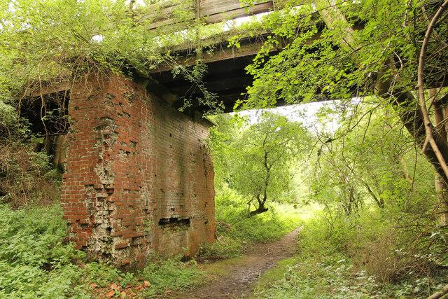 Wharram Percy trackbed & bridge