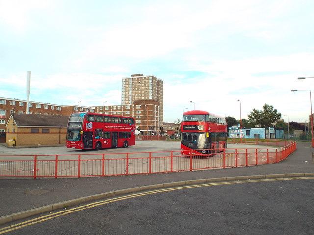 Becontree Heath bus terminus
