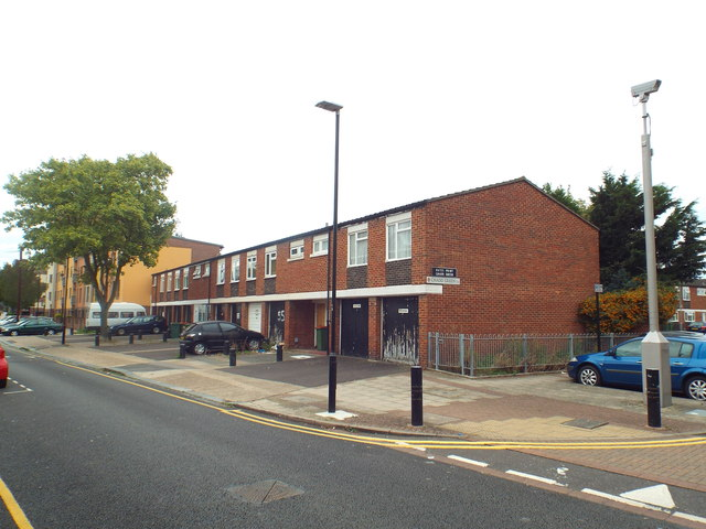 Houses on Pelly Road, West Ham