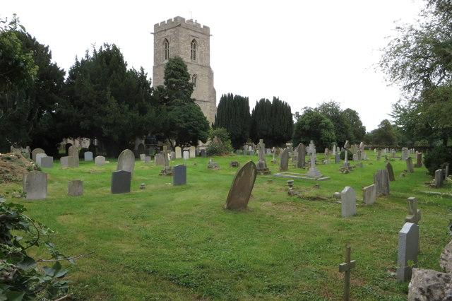 St Owen's chrurchyard