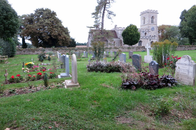 New churchyard at St Mary's