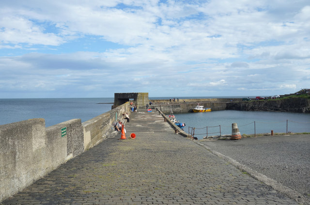 A Quiet Day at Craster Harbour