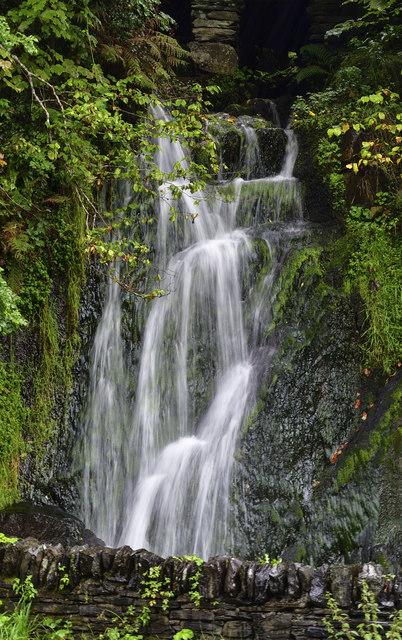 The River Fuarth Waterfall