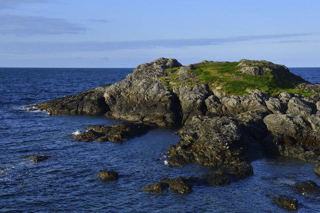 Rocks off Trearddur Bay, Anglesey